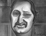 Ф. Горенштейн. Рисунок Татьяны Сельвинской