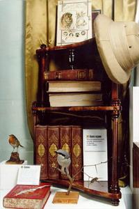 Воссоздание рабочего кабинета А.Э. Брэма. Дарвиновский музей, Москва
