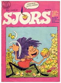 Обложка журнала Sjors, где работал Б. Ринг