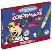 Фломастеры 12цв. 1279 Colormaxi fibracolor